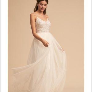 Gorgeous and whimsical Cream Bhldn dress